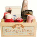 Vintage Food in Box