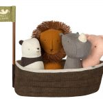Noah's Ark With 4 Rattles - Maileg -