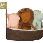 Noah's Ark With 3 Mini Animals - Maileg -