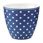 Latte Cup - Mug Spot Blue