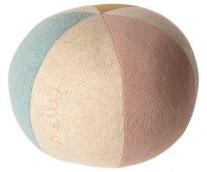 Ball - Light Blue Rose Yellow - Maileg -