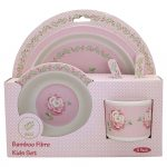 Set Bamboo Child Lily Petit White