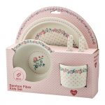 Set Bamboo Child Ruby Petit White