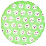 Bamboo Plate Cherry Berry Pale Green -GreenGate