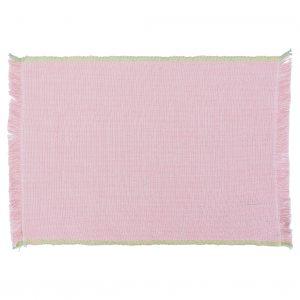 Placemat Summer Lurex Pale Pink