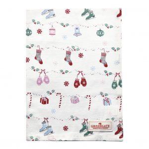 Torchon Jingle Bell White - GreenGate