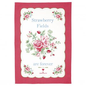 Torchon Mary White Piece Printed - GreenGate