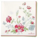 Serviettes en Papier Meadow White -Greengate