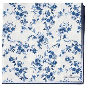 Serviettes en Papier Vanessa Blue -Greengate
