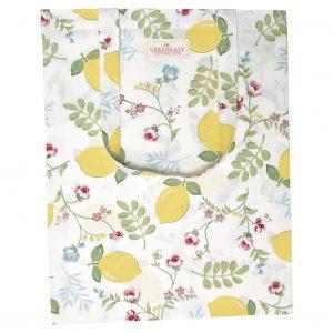 Tote Bag Coton Limona White - GreenGate