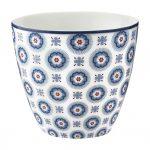 Latte Cup - Erin Pale Blue - Greengate -