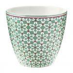 Latte Cup - Mug Juno Green - Greengate -