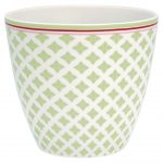 Latte Cup - Mug Sasha Green - Greengate