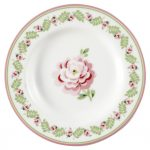 Assiette Small Lily Petit White D15 GreenGate