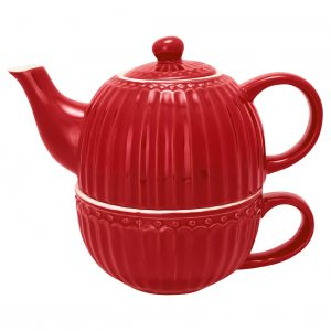 Tea For One Alice Red