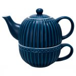Tea For One Alice Dark Blue GreenGate