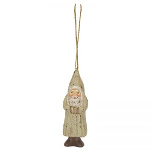 Santa Wooden Wam Grey - Greengate