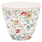 Latte Cup - Vivianne White - Greengate