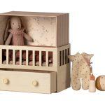 Baby Room With Micro Bunny - Maileg
