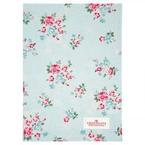 Tea towel - Sonia Pale Blue - Greengate