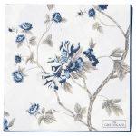 Napkin Paper Large - Charlotte White