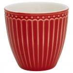 Mini Latte Cup - Alice - Red - Greengate
