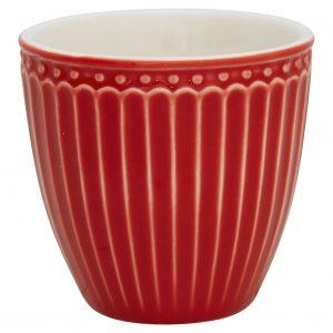 Mini Latte Cup - Alice - Red - Greengate