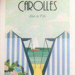 Affiche - Carolles - Bain De Mer - les petits yéyés