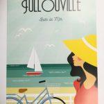 Affiche - Jullouville - Bain De Mer - les petits yéyés