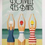 Affiche - Donville Les Bains - les petits yéyés