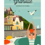 Affiche - Granville - Monaco Du Nord - les petits yéyés