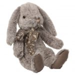 Fluffy Bunny - Large - Grey