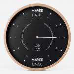 Pendule - Horloge Des Marées Black - Ocean Clock
